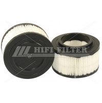 Air Filter For VOLVO-PENTA 358235-8, 21646645 and VOLVO 2164664-5, 2178239-1 - Dia. 155 mm - SA6092 - HIFI FILTER